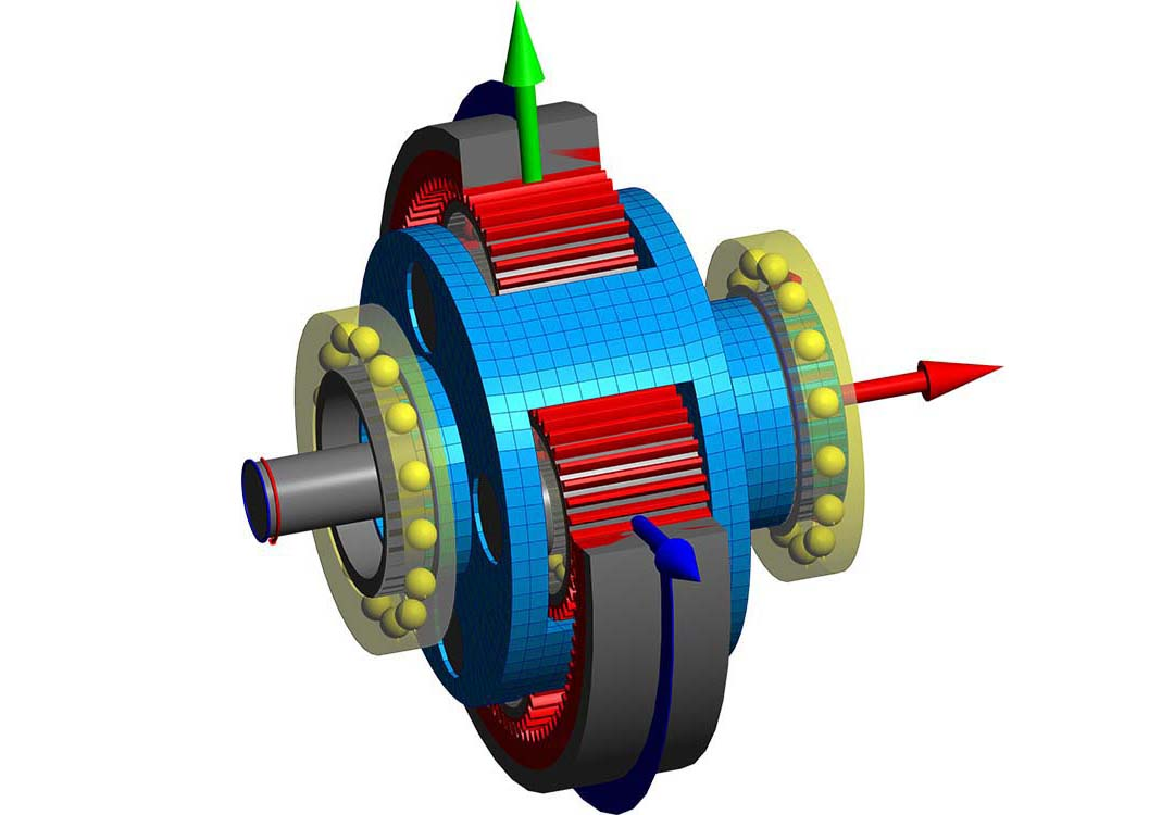 CM2 FEM 3D Engine. Courtesy Mesys A.G., Swiss.
