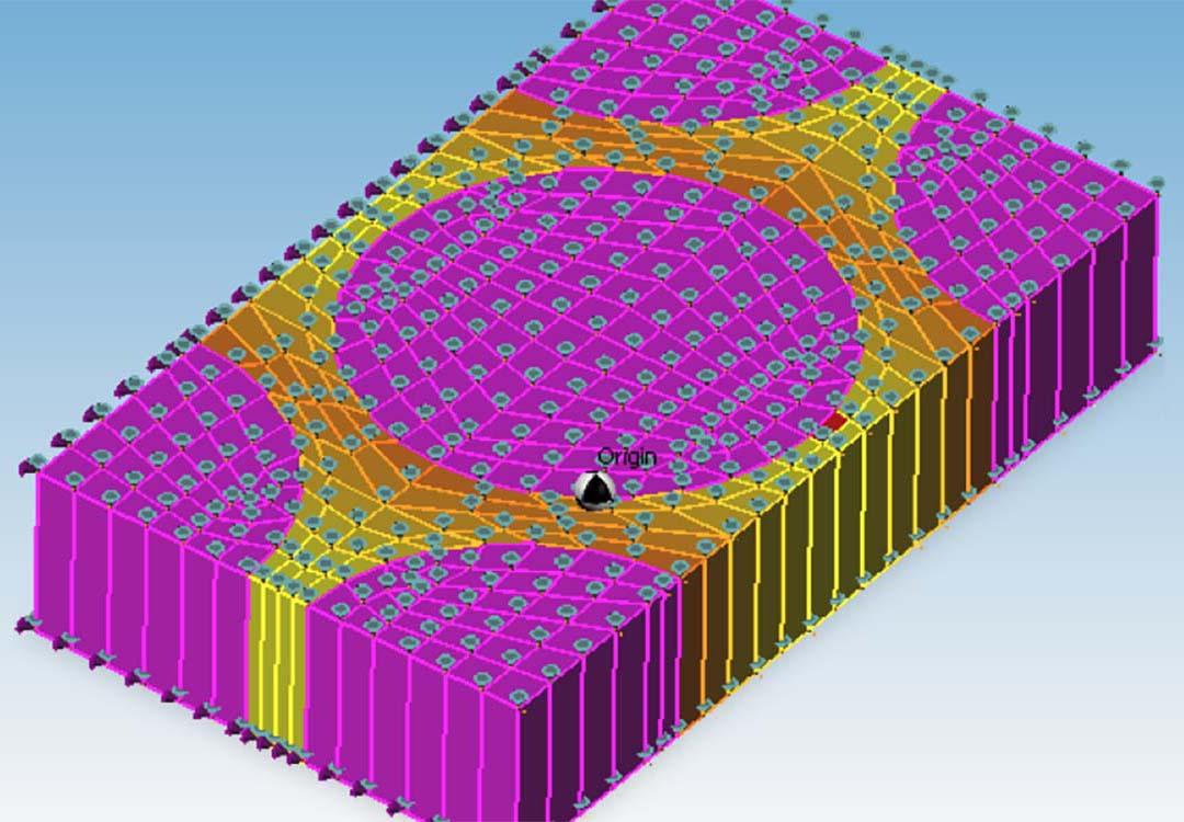 CM2 FEM 3D Engine. Courtesy GSea Design Sarl, France.