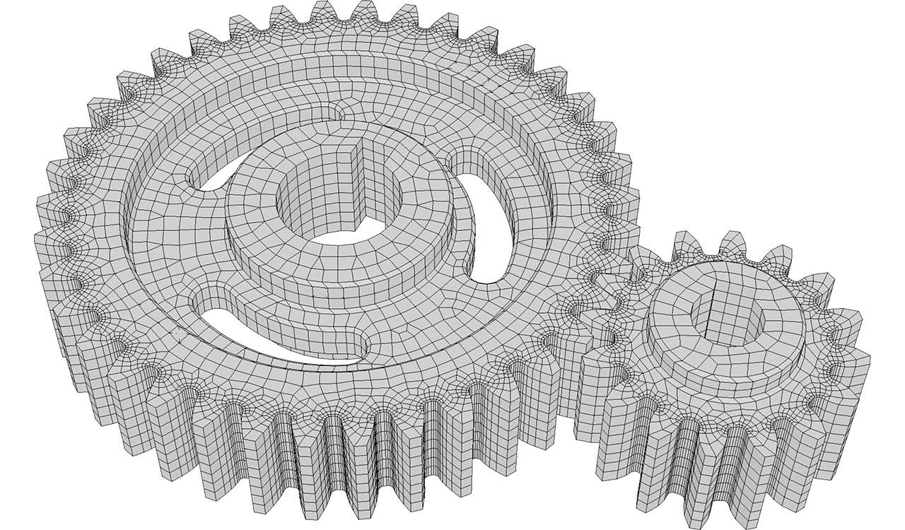 Boundary quad-dominant mesh (input of CM2 HexaMesh Iso).