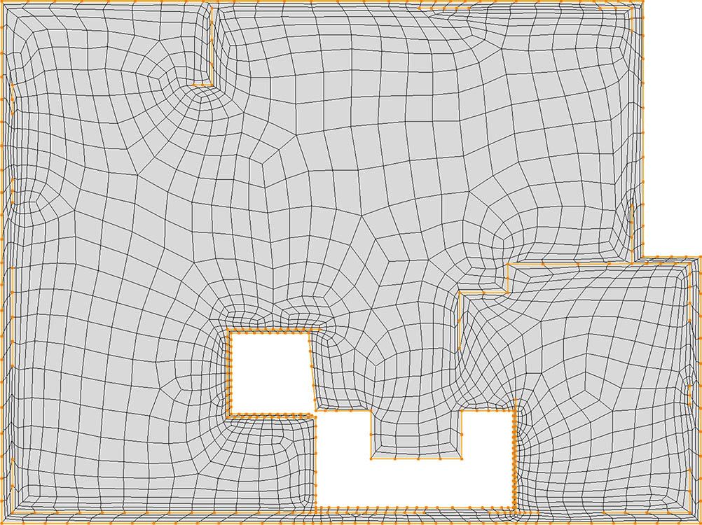 CM2 QuadMesh Aniso. All-quad mesh.