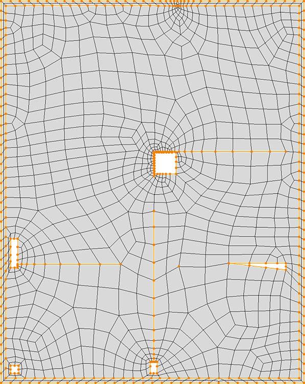 CM2 QuadMesh Iso. All-quad mesh.