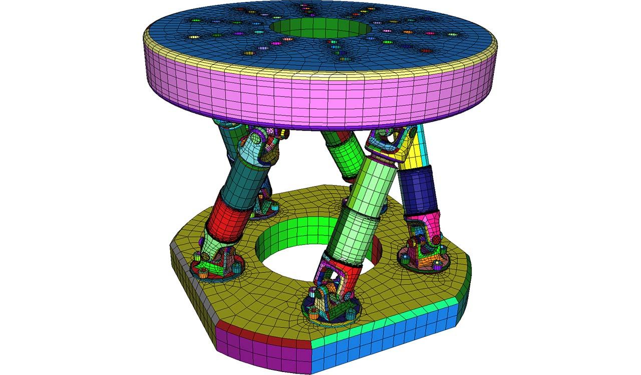 CM2 SurfMesh Q4. Quad-dominant mesh.
