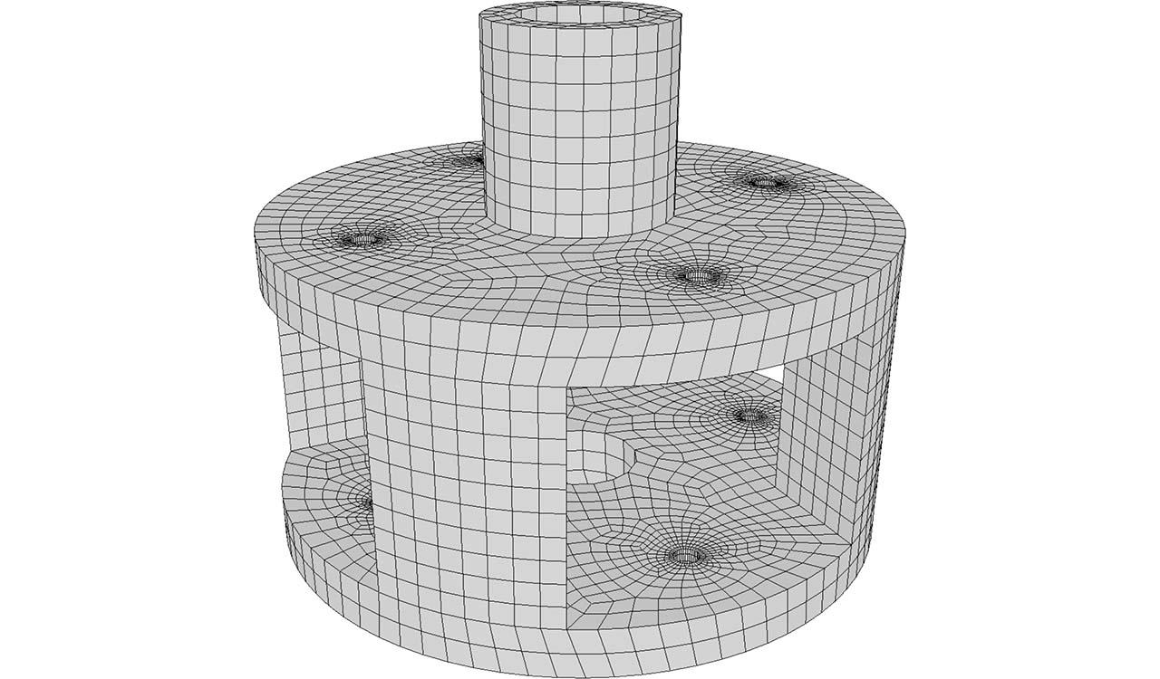 CM2 SurfRemesh Q4. New all-quad mesh.