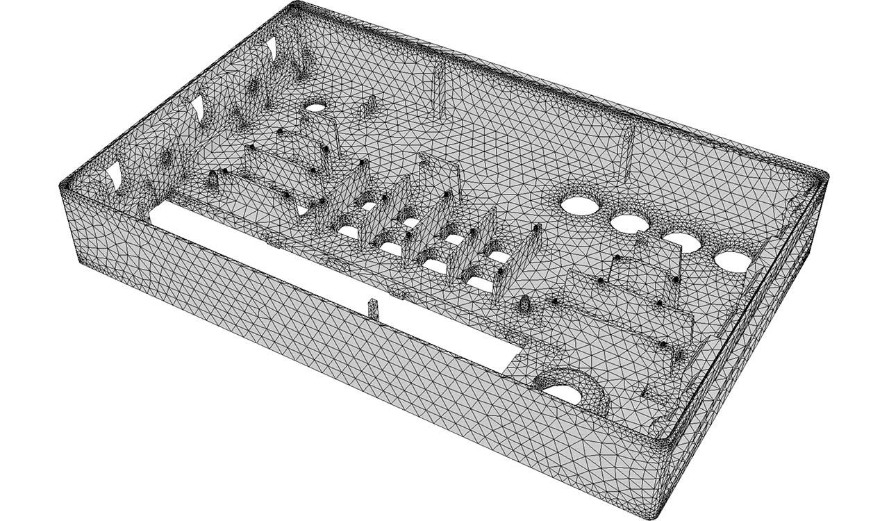CM2 SurfRemesh T3. New all-triangle mesh.