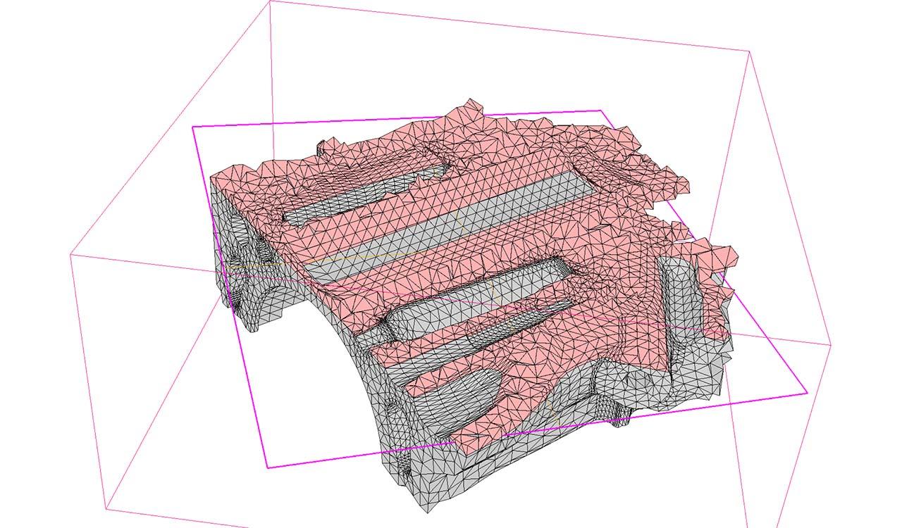 CM2 TetraMesh Iso. All-tetraedron mesh.