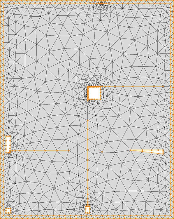 CM2 TriaMesh Iso. All-triangle mesh.