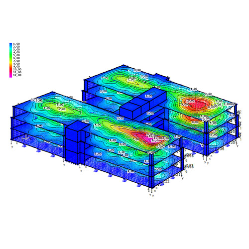 Building Structural Finite Element Analysis (FEA)